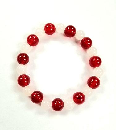 Candy Shop Bracelet:  Candy Cane