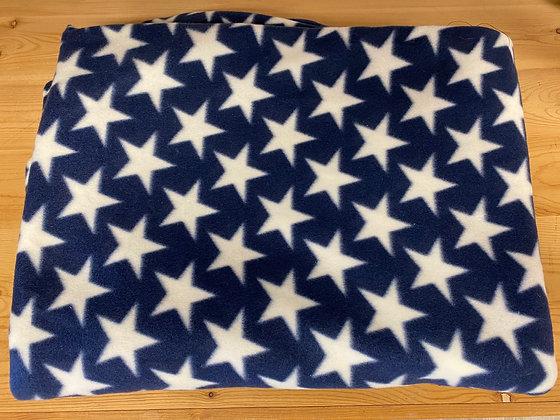 Stars Oversized Fleece Throw Blanket