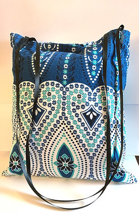 Boho Cotton Tote Purse