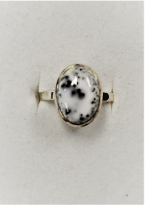 Dalmation Jasper Ring