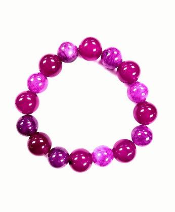 Candy Shop Bracelet: Raspberry & Grape