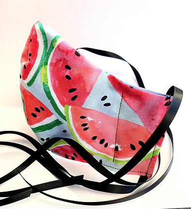 Watermelon Slices Cotton Mask