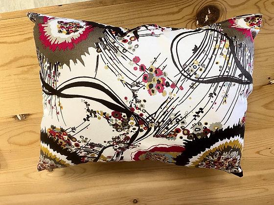 Abstract Garden Accent Pillow