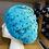 "Thumbnail: Dancing Deer Knit Hat ""Turquoise"""
