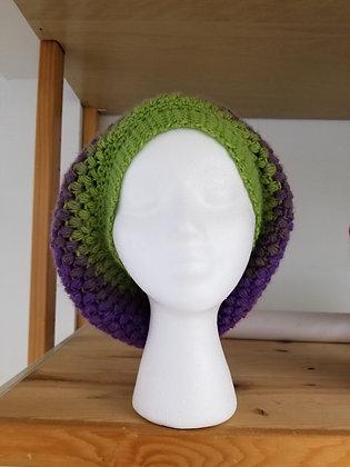 Crochet Beret:  Berry Patch
