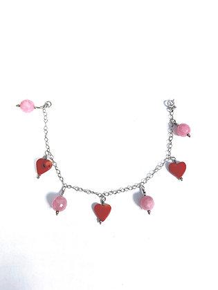 Soft Romance Charm Bracelet