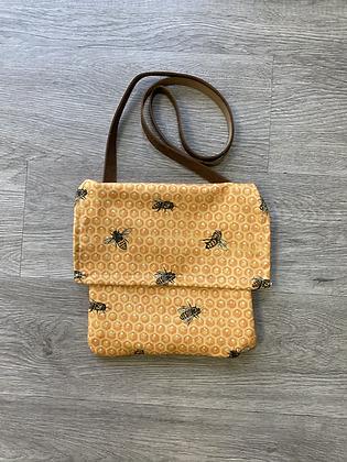 Bees Mini Messenger Bag