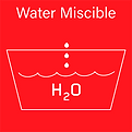 Products are dilutable with water.