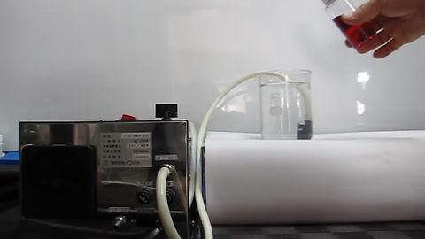 Nano-bubble generator can neturalize glycol using atmospheric oxygen.