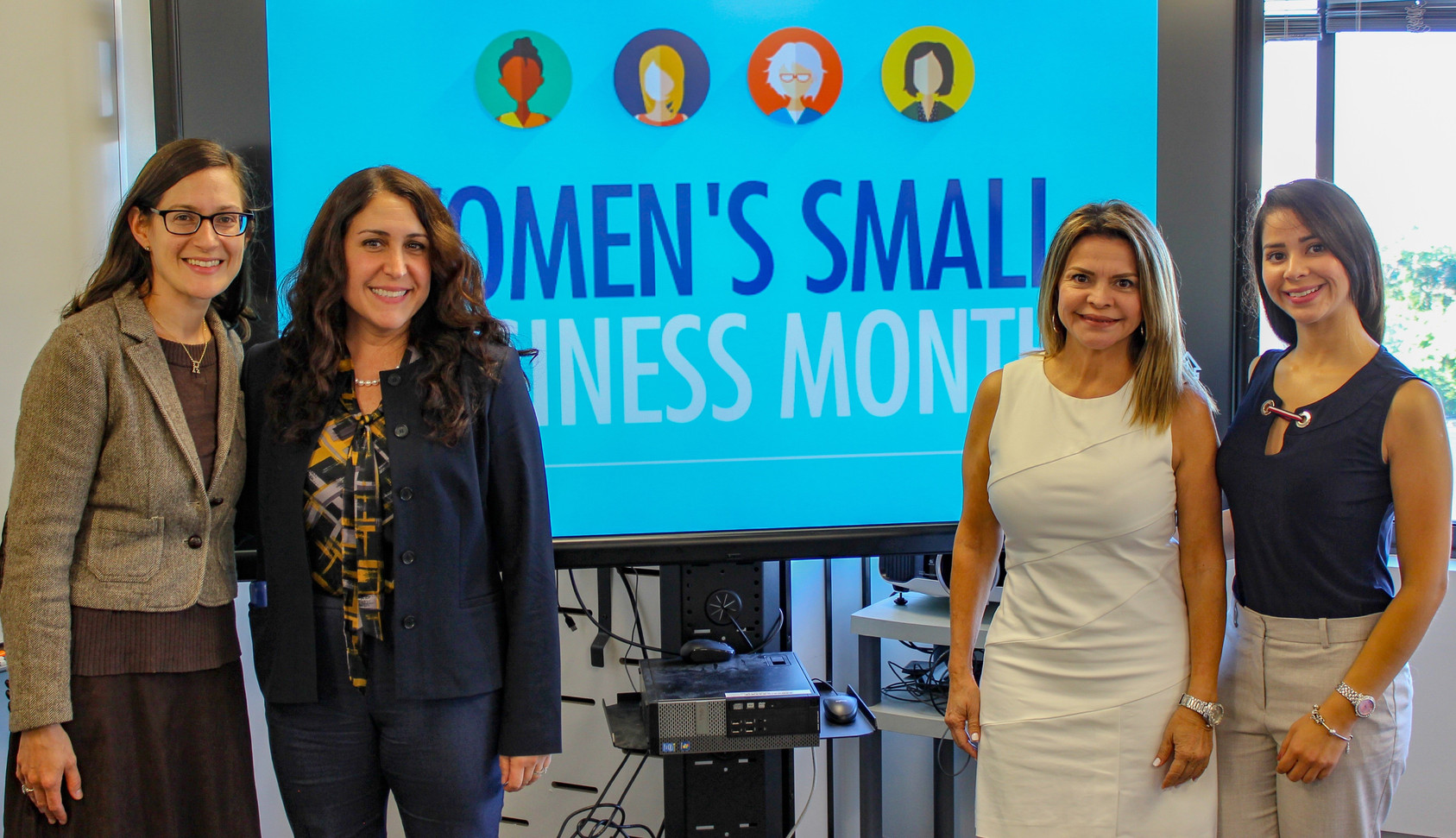Macan Deve participated in the NYCSBS Women Small Business Month event.