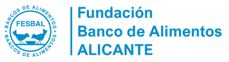 Logo Banco de Alimentos Alicante en azul