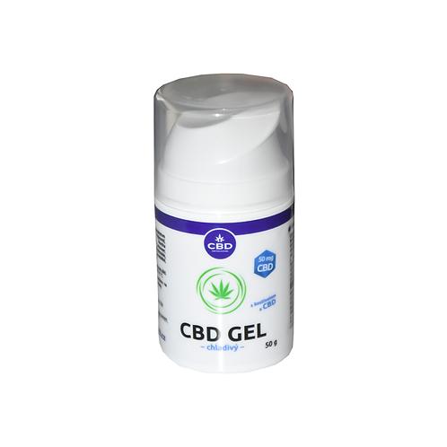 CBD chladivý gel 50g
