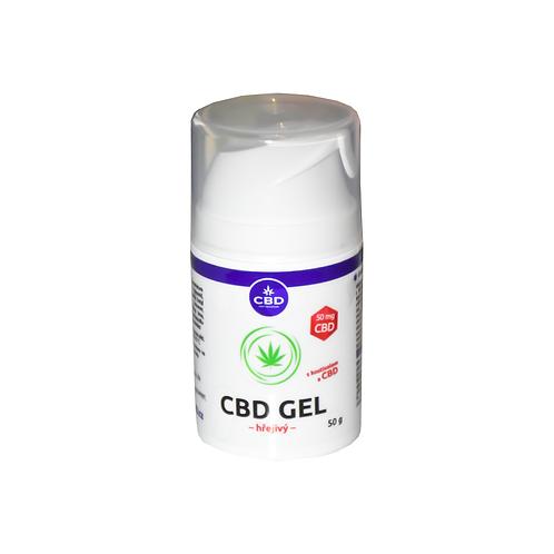 CBD hřejivý gel 50g