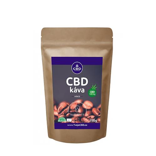 CBD káva 100g