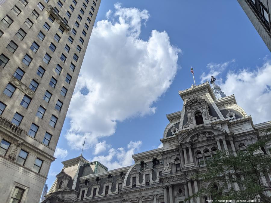 Philadelphia's startup scene is among the best-performing in the world, according to a new report. Above, City Hall.
