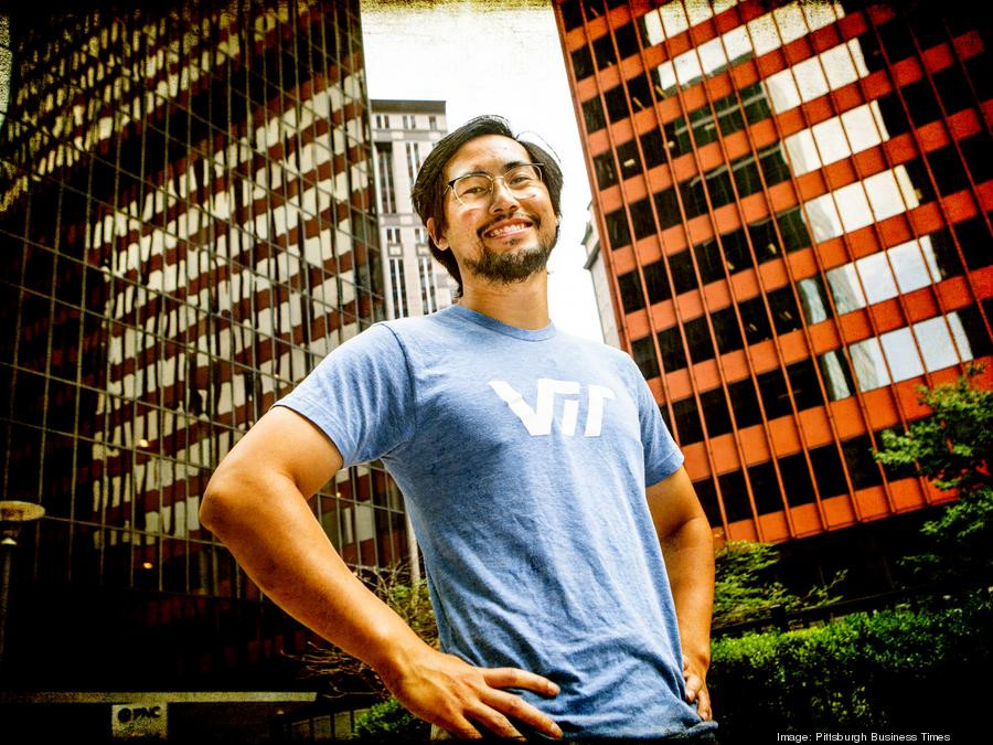Andy Chan, CEO & Co-Founder at VIT in downtown Pittsburgh.