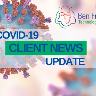 Ben Franklin Clients Answer Call to Combat COVID-19