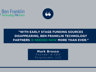 Healthcare Analytics Startup PurpleLab Relies on #BenFranklin4PA