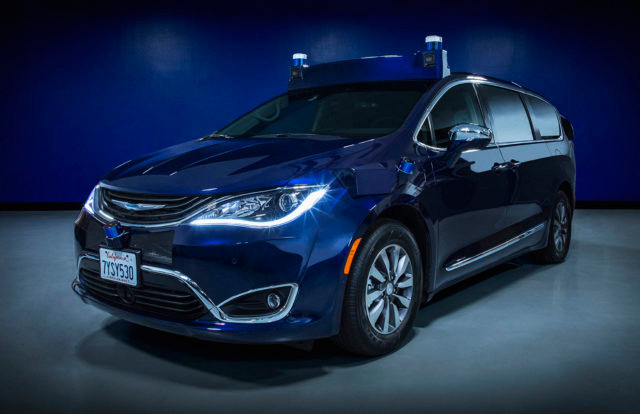 Aurora Driver integrated in a Chrysler Pacifica