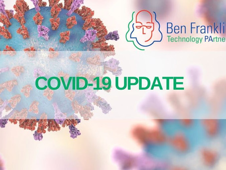 Ben Franklin Awarded $4 Million to Aid Struggling Startups, Foster Innovation in Response to COVID19