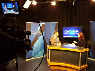 Ryan Glenn, Director of Statewide Initiatives Discusses Tech Innovation on Comcast Newsmakers