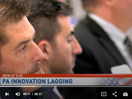 CBS21 News: Report finds PA lagging behind in innovation