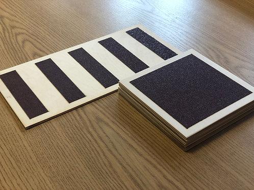 Szorstkie tablice Montessori
