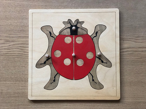 Puzzle Montessori - Biedronka