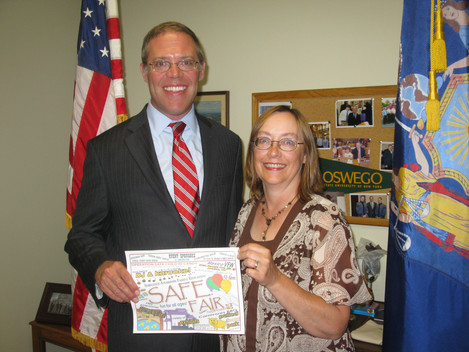 ASSEMBLYMAN WILL BARCLAY SUPPORTS THE SAFE FAIR
