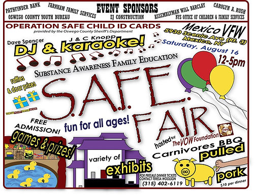THE S.A.F.E. FAIR WAS A FUN AND SUCCESSFUL EVENT!