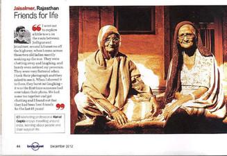Lonely Planet, Dec 2012