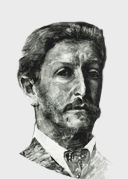 М.А. Врубель, родился в г. Омске