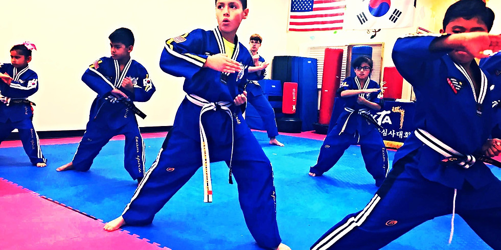 In person TKD class begins (Back to normal) + Virtual Class