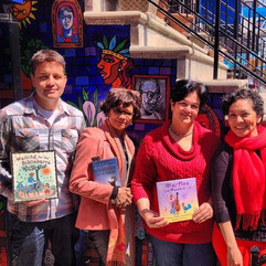 Reading at La Casa Azul