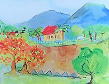 1. Illustration of La Tienda Grande, the