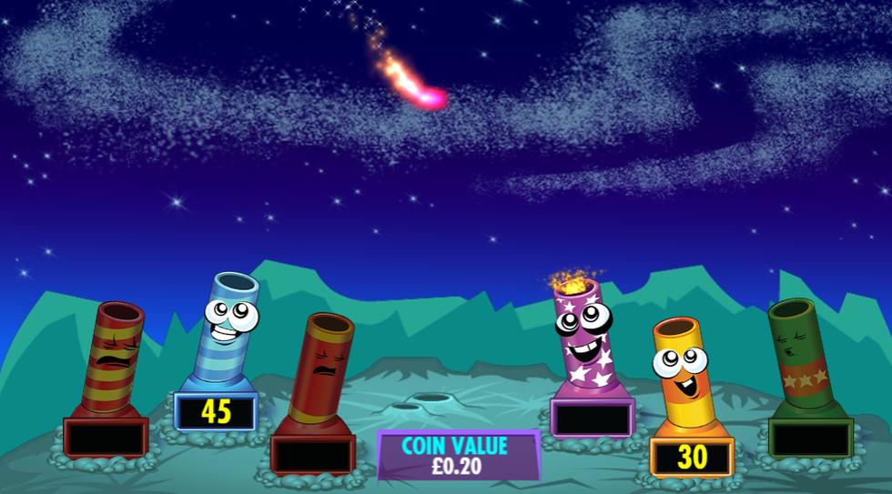 Fantastic Fireworks! 2nd Bonus Screen