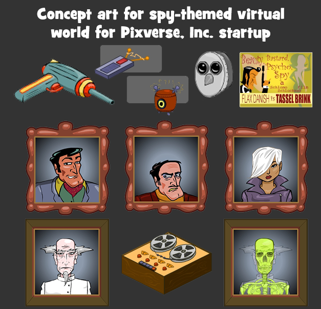 Concept for Spy World