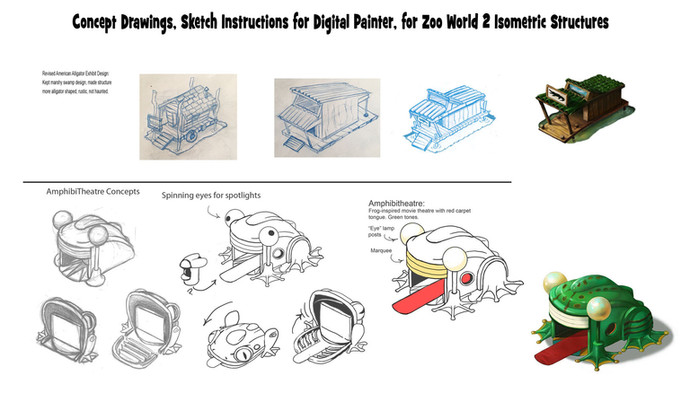 Concept Drawings for Structures