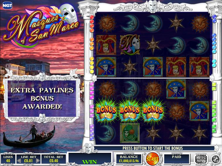 Transition Bonus Win Screen
