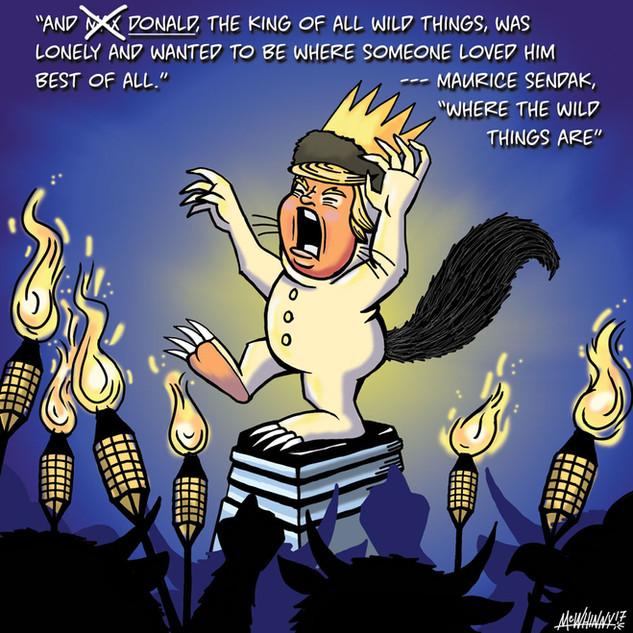 Charlottesville Political Cartoon