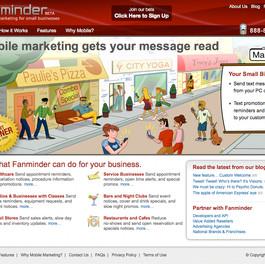 Fanminder Site Illustration