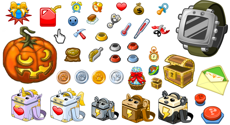 Zoo World 2 Game Icons