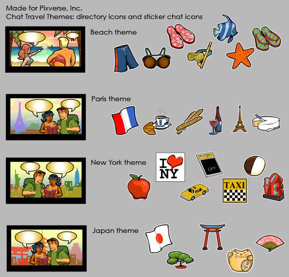 Widget Sticker Icons