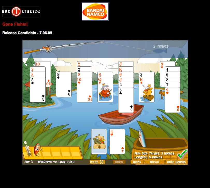 Namco Fishing Card Game
