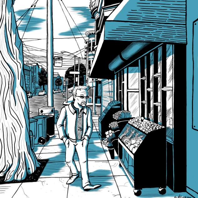 Page from Graphic Novel Project