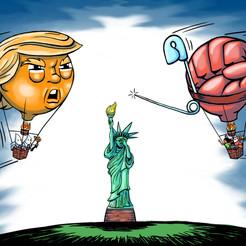 Trump Balloon Battle