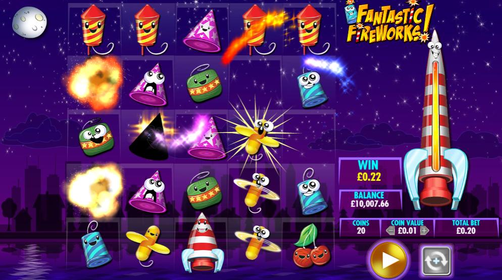 Fantastic Fireworks! base game