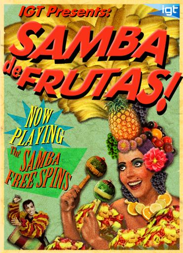 Samba de Frutas! Bonus Game Poster