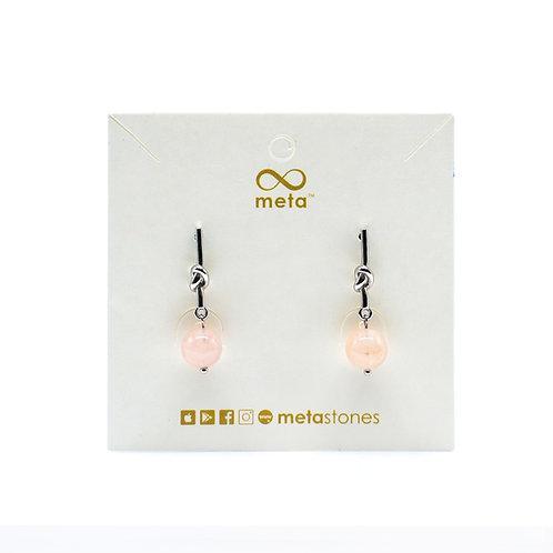 Morganite (Peach) Earring
