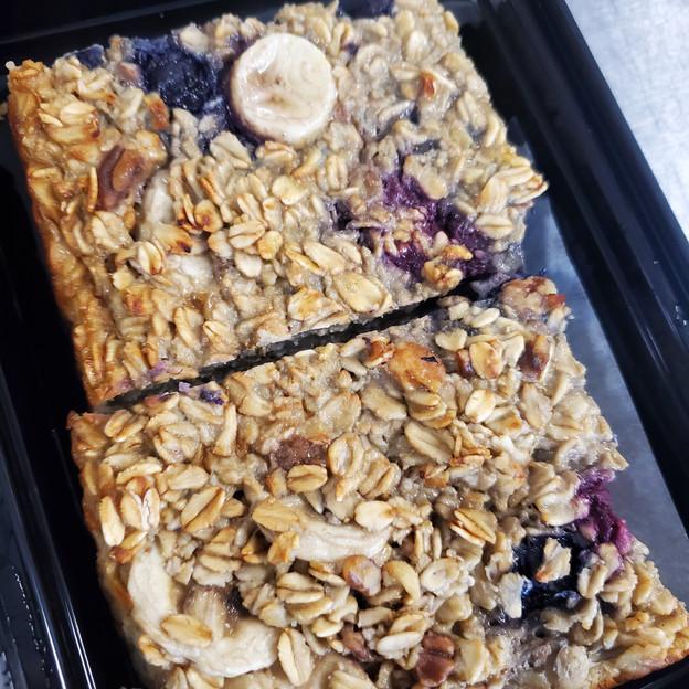Berry Baked Oatmeal Bars